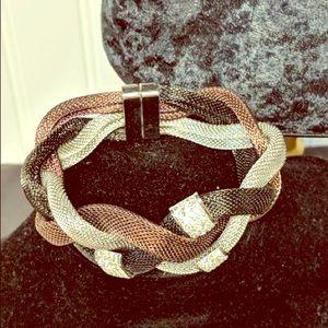 Twisted bracelets
